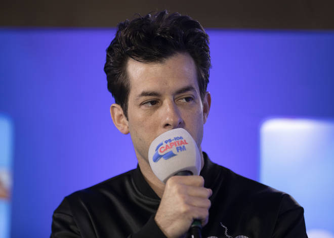 Mark Ronson backstage at Capital's Summertime Ball 2019