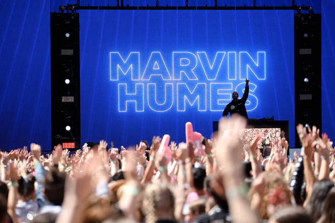 Marvin Humes at the Summertime Ball 2019