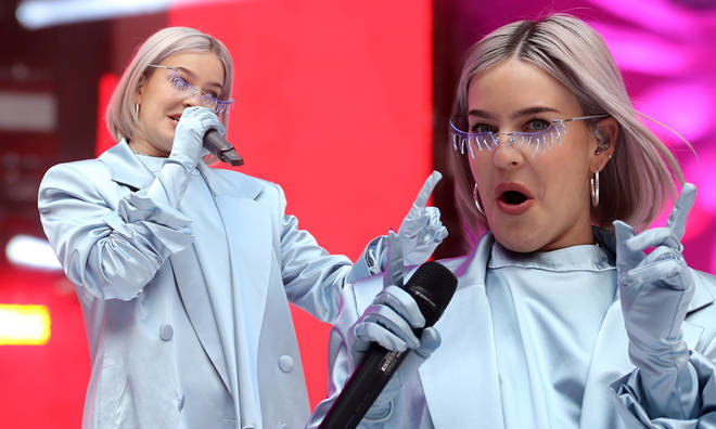 Anne Marie got the crowd well and truly hyped