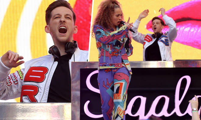 Sigala brought out Ella Eyre and Becky Hill during his 2019 Summertime Ball set
