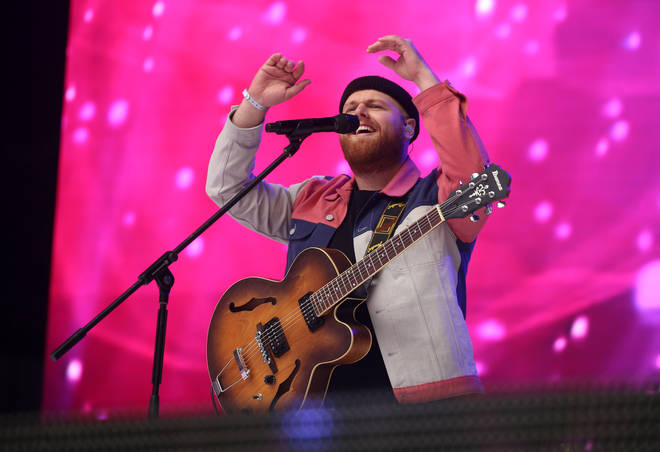 Tom Walker at Capital's Summertime Ball 2019