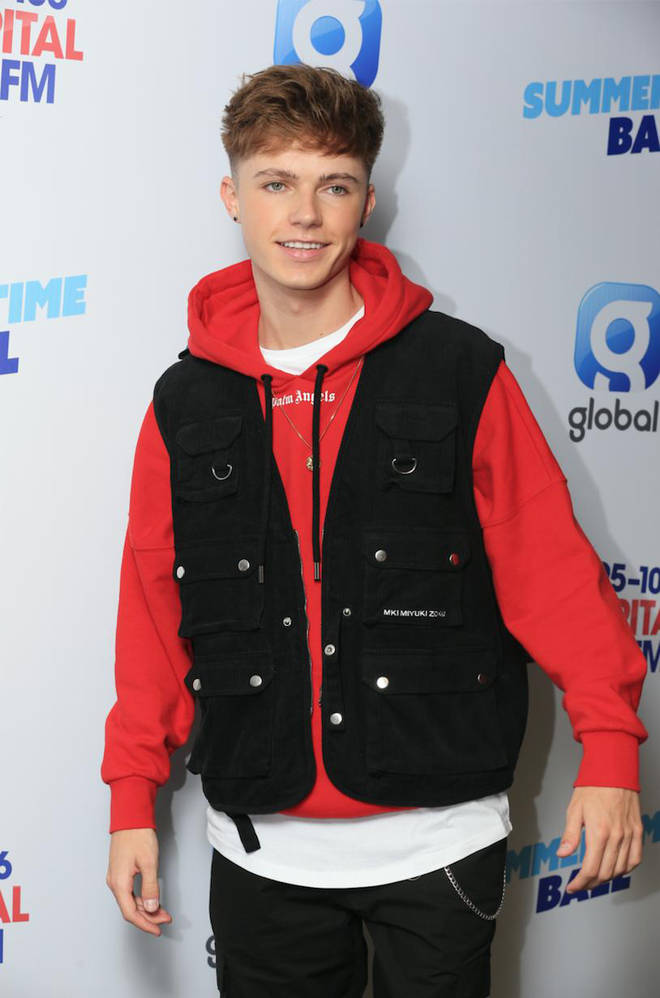 HRVY on the red carpet at Capital's Summertime Ball 2019