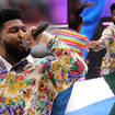 Khalid put a smile on everyone's faces in Wembley Stadium