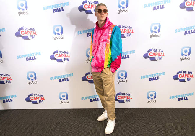 Lauv on the red carpet at Capital's Summertime Ball 2019