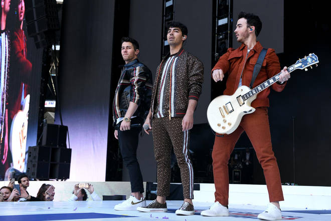 The Jonas Brothers had a huge surprise for everyone at the Summertime Ball