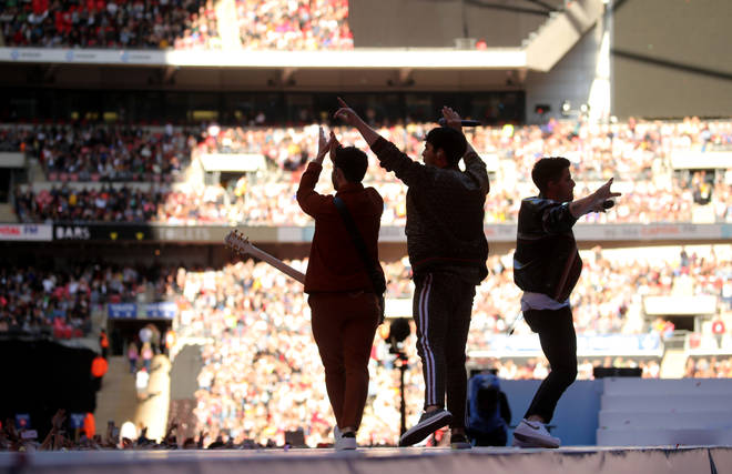 The Jonas Brothers at Summertime Ball