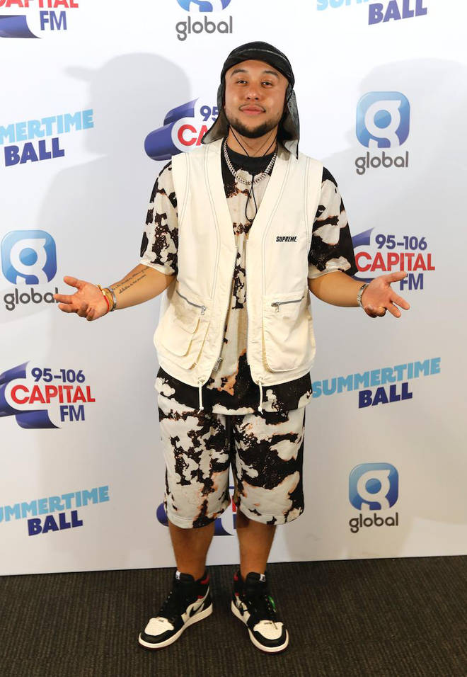 Jax Jones on the red carpet at Capital's Summertime Ball 2019