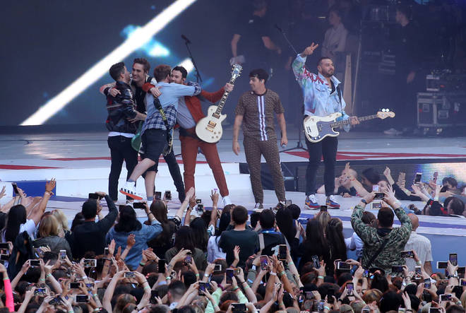 The Jonas Brothers and Busted at Summertime Ball 2019