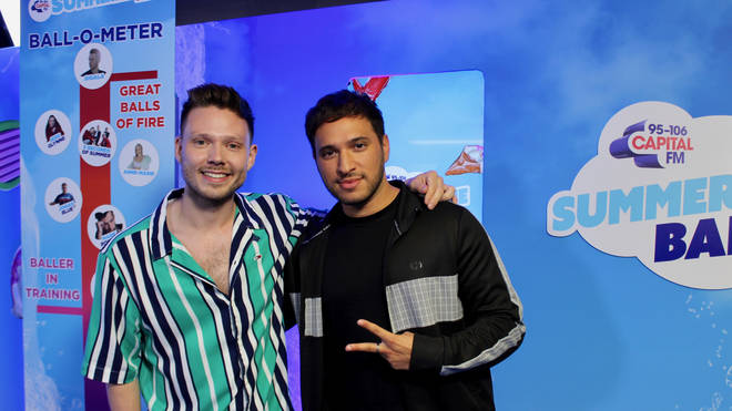Jonas Blue caught up with Will Manning at Capital's Summertime Ball