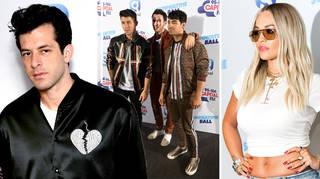 Mark Ronson, Jonas Brothers, Rita Ora