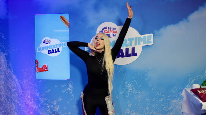 Ava Max spoke to Will Manning at Capital's Summertime Ball