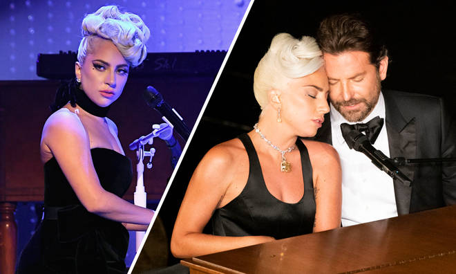 Lady Gaga has responded to fans' heckling about Bradley Cooper