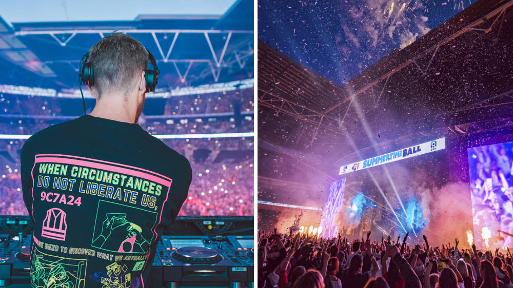 Calvin Harris Closed The #CapitalSTB & Shut Down Wembley Stadium With An Iconic Set