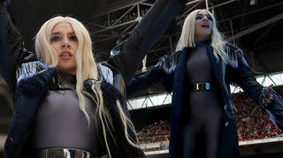 Ava Max delighted the crowd at Wembley Stadium