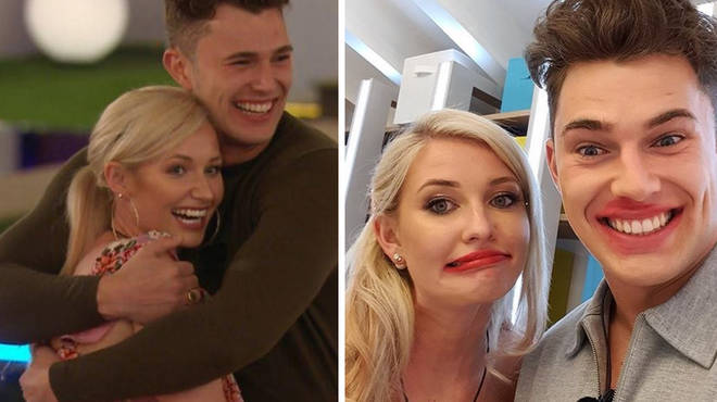 Love Island fans are not convinced with Curtis' interest in Amy.