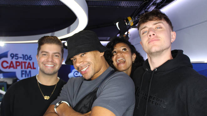 Wes Nelson caught up with Capital Breakfast with Roman Kemp