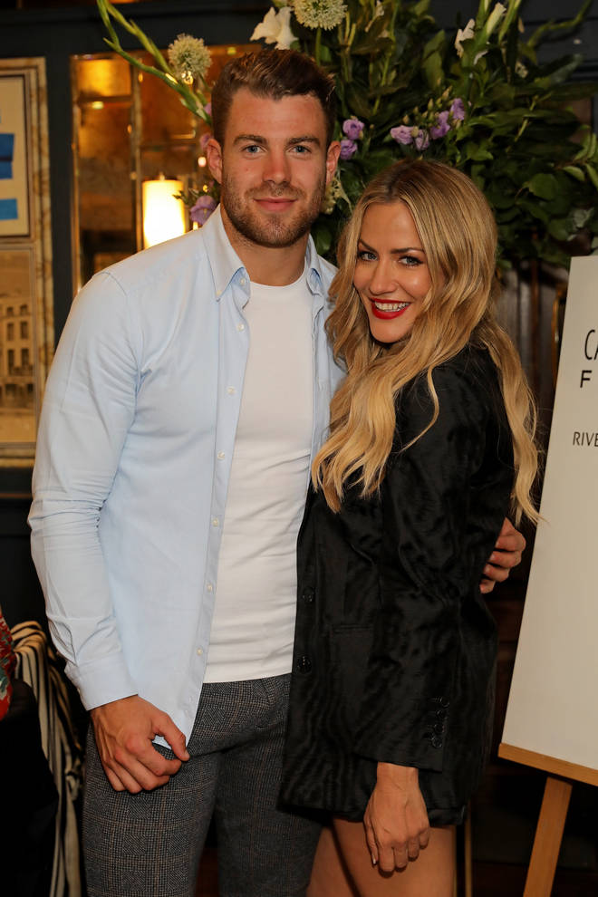 Bradley Simmonds is Caroline Flack's personal trainer