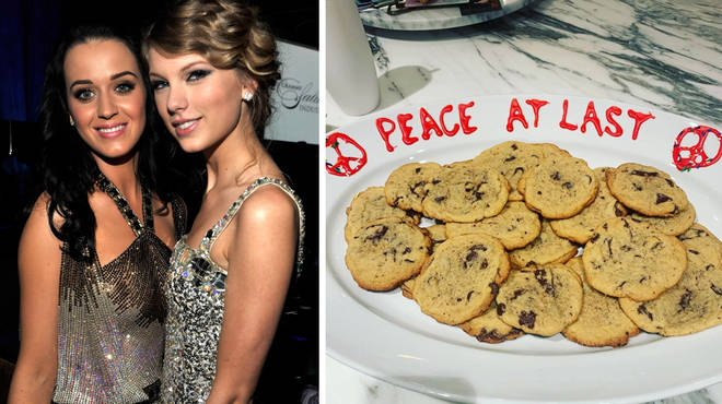 Taylor Swift and Katy Perry have officially squashed their beef.