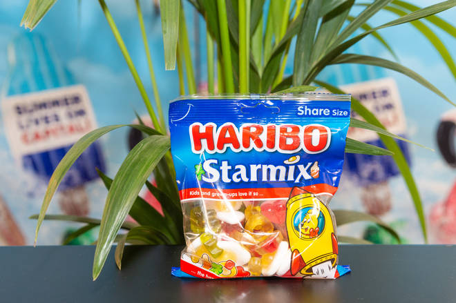 Haribo backstage at the #CapitalSTB