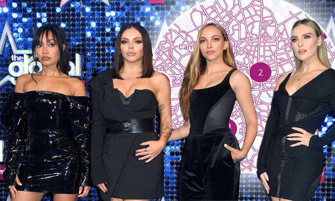 Little Mix have dropped hot spots all over the country