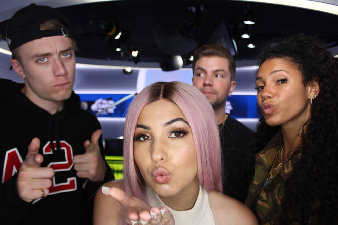 Mabel caught up with Capital Breakfast with Roman Kemp