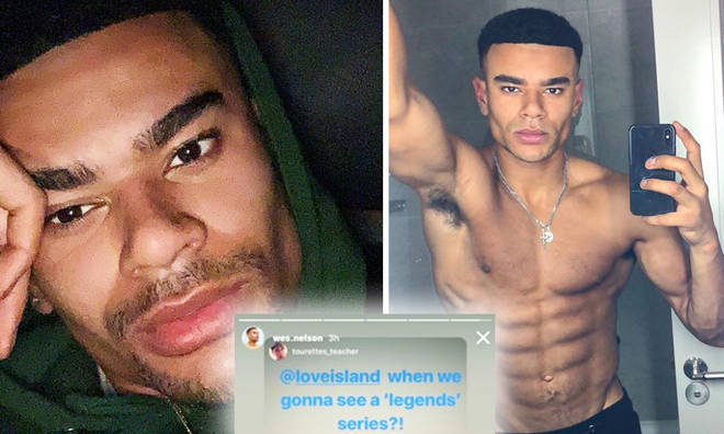 Wes Nelson wants a Love Island 'legends' series