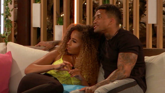 Amber Gill telling off Anton Danyluk about what he said to Anna was hilarious