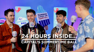 The Jonas Brothers join Roman at the Summertime Ball