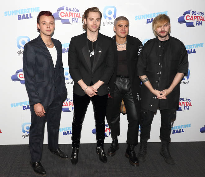 5 Seconds of Summer performed at Capital's Summertime Ball