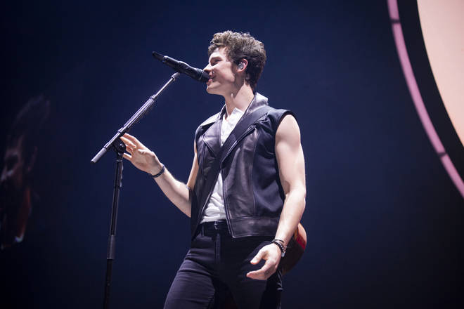 Shawn Mendes often wears sleeveless tops to show off his muscles
