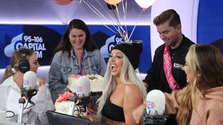 Jesy Nelson had a surprise birthday party with Capital Breakfast