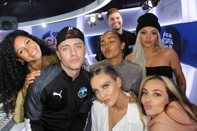 Little Mix joined Capital Breakfast with Roman Kemp