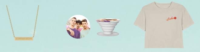 Jonas Brothers release new merchandise.