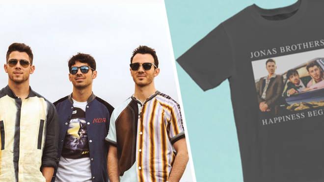Jonas Brothers merch has landed.