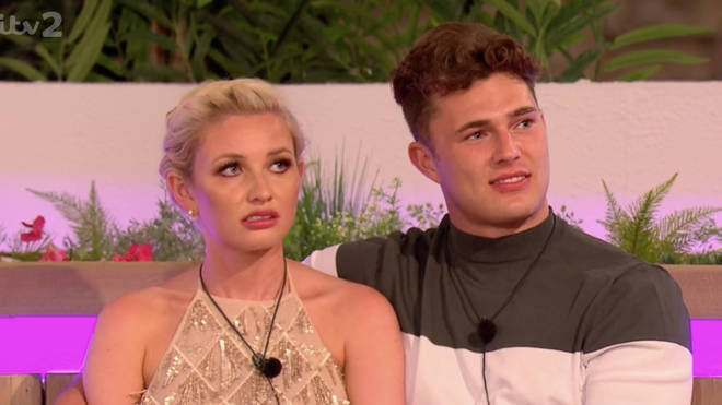 Love Island viewers didn't think the scenes of Amy looking unhappy matched up
