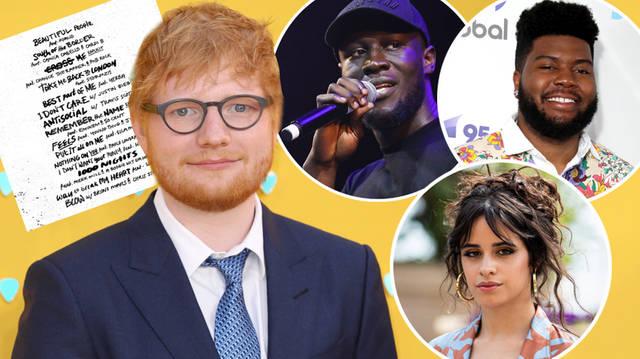 Ed Sheeran Latest News New Songs Photos Videos Capital