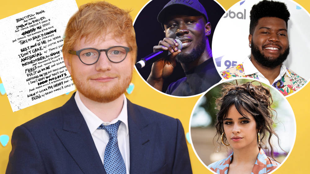 Ed Sheeran New Album 'No.6 Collaborations' Project: Eminem, 50 Cent, Justin Bieber And Other Stars Feature...