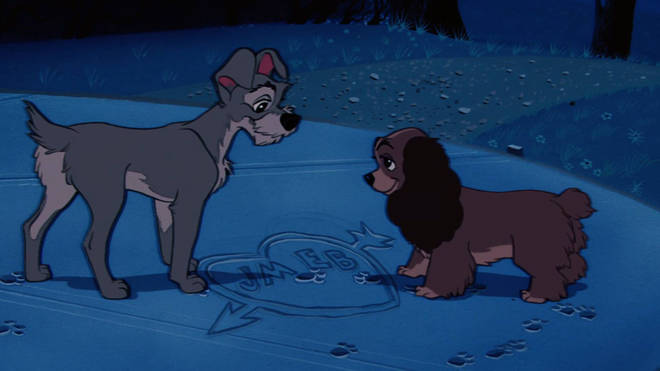 Lady and the Tramp is debuting on Disney+