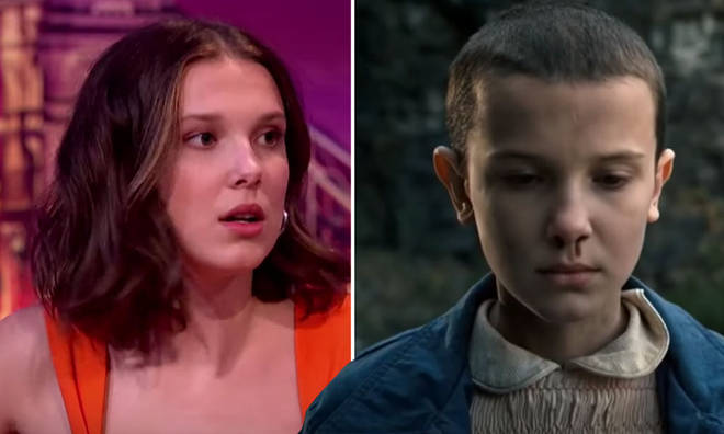 Millie Bobby Brown has revealed how she makes her nose 'bleed' on demand for Stranger Things