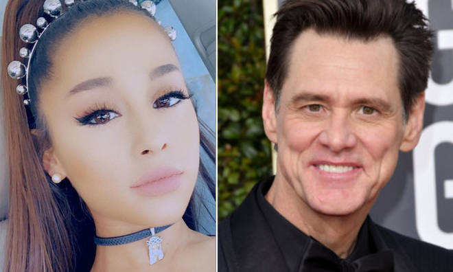 Ariana is a huge fan of the actor.
