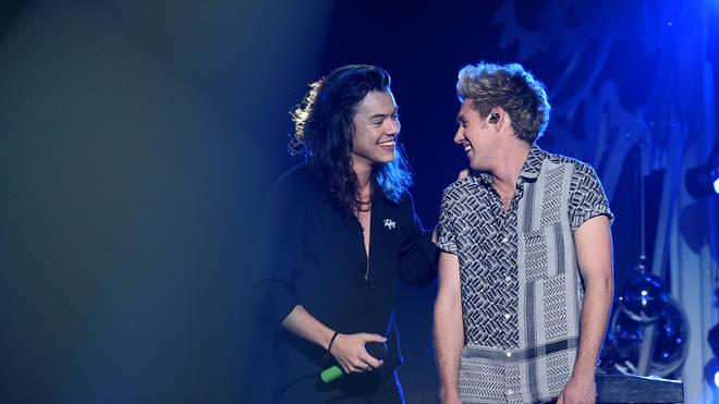 Niall Horan and Harry Styles met up at The Eagles' concert in London