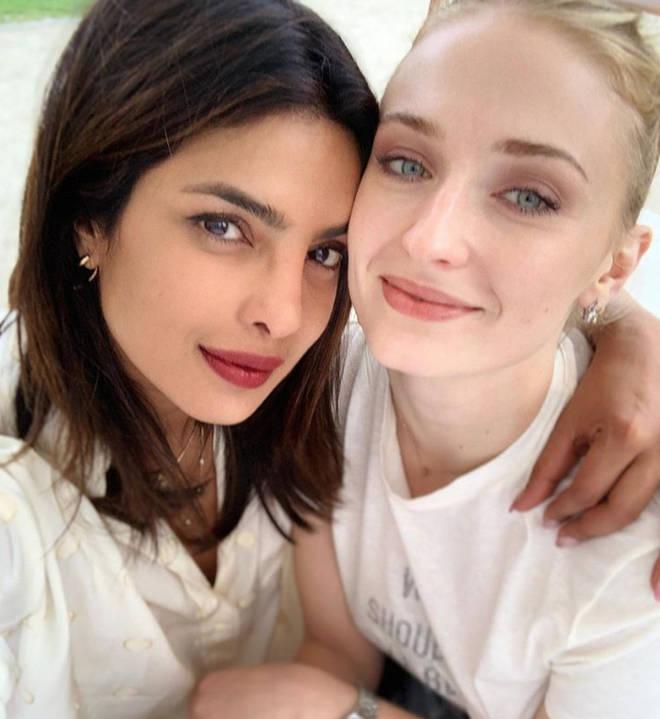 Priyanka Chopra and Sophie are very close