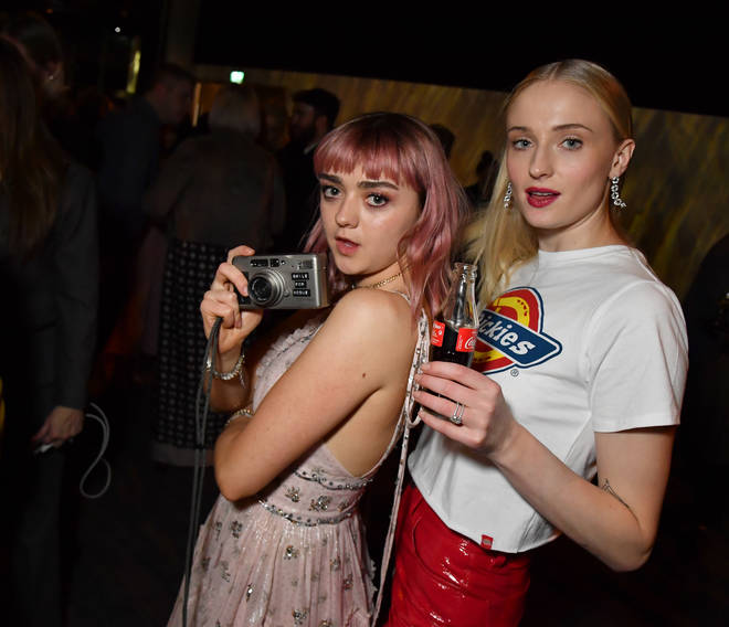 Sophie Turner chose Maisie Williams to be her maid of honour