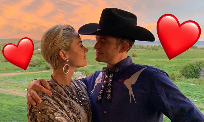Katy Perry And Orlando Bloom Look So In Love As They Celebrate