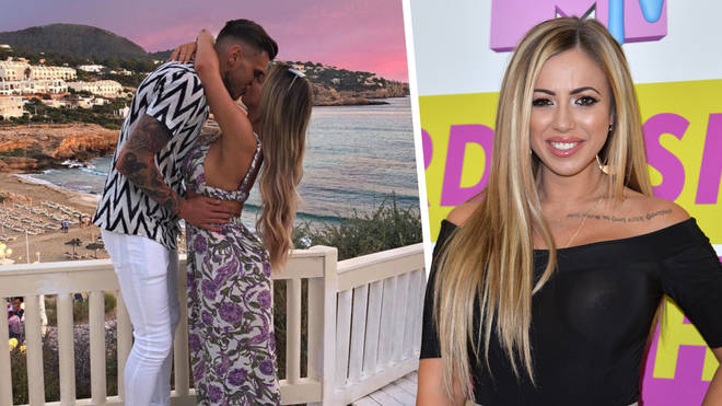 Holly Hagan got engaged in Ibiza