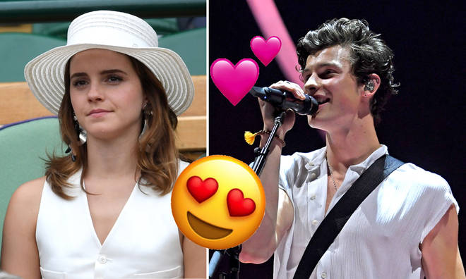 Shawn Mendes has a huge crush on Emma Watson