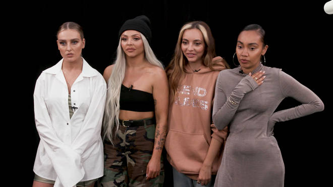 Little Mix take part in 'Throwin' It Back'