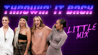 Little Mix play 'Throwin' It Back' at Capital