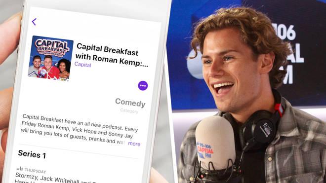 Joe Garratt, David Guetta and RAYE all appear on this week's Capital Breakfast podcast