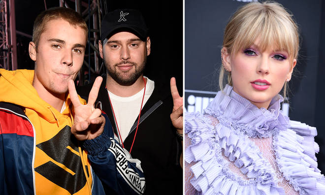 Scooter Braun is embroiled in a rift with Taylor Swift